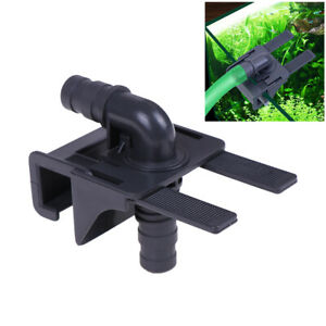 Aquarium Water Pipe Connector Fish Tank Mount Holder Inflow OutflowStretchabl ap