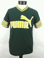 PUMA Shirt Jersey Vintage BIKE 80's Original Green/Yellow Adult S Youth L RARE