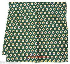 Souleiado French Country Provence Cotton BANDANNA SCARF Green Floral Gift New