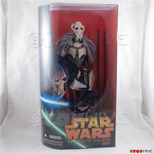 "Star Wars ROTS EP3 12"" inch General Grievous Revenge of the Sith figure Hasbro"