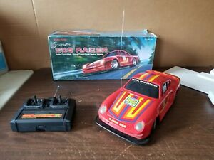 Super 959 Racer Porsche 1/13 Tandy Radio Shack RC with Box Works