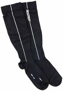 Assos Recovery Socks Size 1 EU 39-42 Black Road Bike Triathlon Training Running