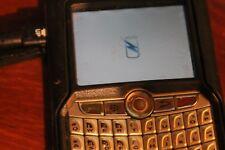 BlackBerry 7250 Black (Verizon) Smartphone Powers On w/ Otter Box & Original Box