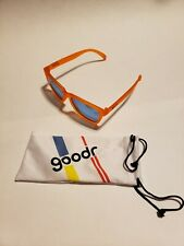 Goodr OG Donkey Goggles Running Sunglasses Orange Reflective