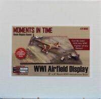"""Squadron True Details 1:72 WWI Airfield Display 8"""" x 8"""" Resin Base #7201"""