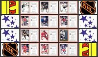1994 Panini NHL Hockey Stickers Complete Set of 275 Pronger Irbe Osgood Rookie