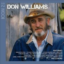 DON WILLIAMS Icon 2 2CD BRAND NEW Compilation