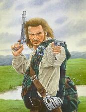 Rob Roy Liam Neeson Art Print