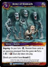 WORLD OF WARCRAFT WOW TCG BATTLE OF ASPECTS : ARMY OF UNDEATH X 4