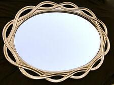 Grosser Wandspiegel GOLD -Spiegel Oval  120 x 90  Flurspiegel Mirror BADSPIEGEL