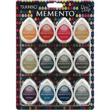 Memento Dew Drop Ink Pads 12/Pkg CHOOSE ONE Gum Drops, Sorbet Scoops, Snow Cones