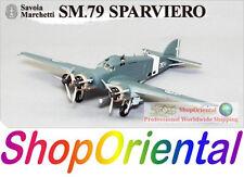 Big Bird 5 WW2 Italy Savoia Marchetti SM.79 Torpedo Bomber 1/144 Model BB5_2B