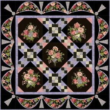 The Garden Gate Quilt Kit ~Strikingly Romantic! Nature's Romance Floral Fabrics