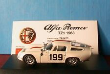 ALFA ROMEO TZ1 #199 MONZA 1964 NABOKOV BEST MODELS 9116 1/43 BIANCA BLANCHE