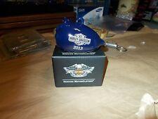 New in Box, Harley-Davidson Biker Santa 3D Ceramic Hog Ornament  96825-14V