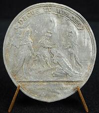 Médaille Promotion de Chevaliers de l'Ordre du St Esprit 1724 Louis XV medal