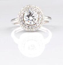 2,70Kt runden Form 585er Weiß gold fabelhaft Solitär Verlobung Ring