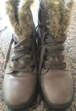 Women's GEOX Respira Winter Ankle Boots Size 37 1/2