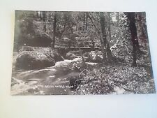 Vintage Real Photo Postcard BECKY BRIDGE 11409 DEVON Franked+Stamped 1929