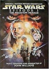 PHANTOM MENACE ~ SOUNDTRACK  24x36 PROMO POSTER ~ Star Wars Movie John Williams