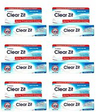 6 PACK Clear Zit Acne Pimple Treatment Cream Maximum Strength Salicylic Acid 2%
