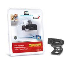 Genius FaceCam 1000X HD WebCam V2 Suitable For Zoom, Microsoft Teams, Skype