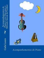Acompanhamentos de Piano e em Duo para o Metodo Inicial de Violino (Portuguese E