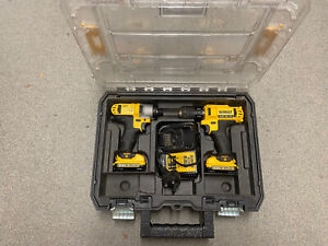 Dewalt Dck211d2t 10.8v Drill And Impact Driver 2x 2.0ah Battery's  T-stack Case