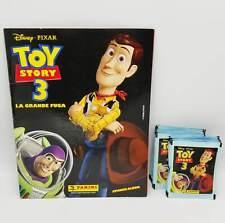 Toy Story 3 album vuoto + 50 bustine figurine Panini