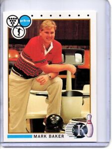 1990 PBA BOWLING CARD #29 MARK BAKER