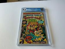 MARVEL TEAM-UP 40 CGC 9.6 WHITE PAGES SPIDER-MAN SONS OF THE TIGER MARVEL COMICS