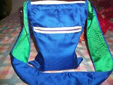 UNIQUE WOMENS LADIES GIRLS FUNKY FESTIVAL BEACH BLUE TRENDY SCHOOL OR HAND BAG!