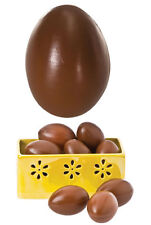 12 Stampi stampo calchi calco forma uovo Pasqua cioccolato per esposizione cm 6