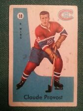 1959-60 PARKHURST #18 Claude Provost - Montreal Canadiens