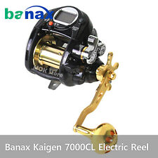 Banax Kaigen 7000CL Electric Reel / Saltwater Big Game Fishing Reels 66lbs Power