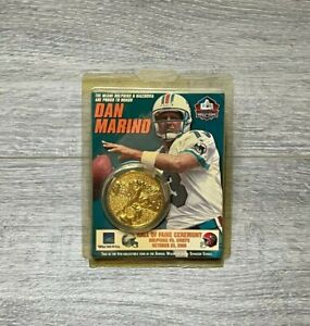 NEW 2005 DAN MARINO #13 Miami Dolphins Hall Of Fame Coin 1983-1999 Legend Goat