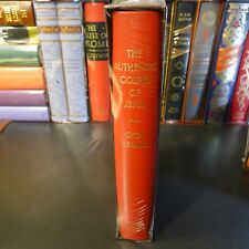 Folio Society THE AUTHENTIC GOSPEL OF JESUS, Geza Vermes, Slipcase, NEW/SEALED