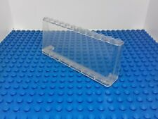 LEGO - 1 x LARGE VINTAGE TRANS CLEAR WINDSCREEN 2 x 12 x 4 6267 - 5563 5571 -