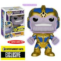 Funko POP! Vinyl Figure Marvel Super Sized THANOS #78 EE Exclusive GITD