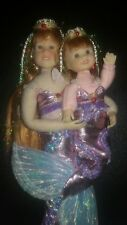 ONLY HEARTS CLUB LILY ROSE DOLL & LITTLE SISTER JESSICA DOLL MERMAIDS MINT CONDI