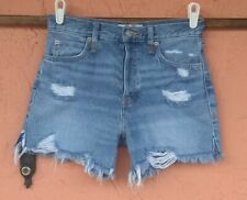 We The Free Women'sMedium Wash Jean Shorts | 25 BUTTON FLY