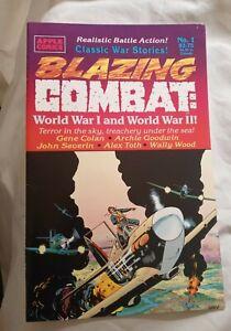 Blazing Combat World War I and World War II (1994) #1 classic war stories VF NM