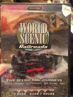 NEW World Scenic Railroads (DVD)