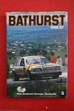 *RARE* BATHURST 1986/87 by Barry Naismith - The Great Race (Hardcover/DJ, 1987)