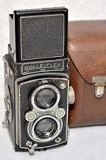 Rolleiflex New Standard DRP WWII with Zeiss Tessar f/3,5 7,5cm lens