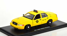 1:43 Greenlight Ford Crown Victoria NYC Taxi 2011 yellow
