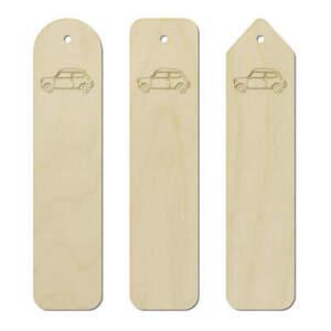 3 x 'Mini Car' Birch Bookmarks (BK00013655)