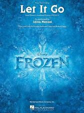 Let It Go From Frozen Single Sheet Learn to Play Piano Vocal Guitar Music Book