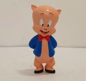 "Looney Tunes Porky Pig PVC Figure Toy 3"" Warner Bros 2001"