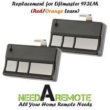2 For Sears Craftsman 139.53681B Garage Opener Remote Transmitter 139.53680